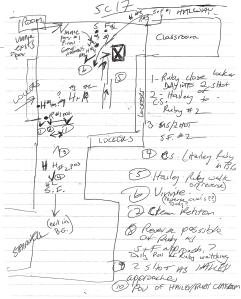 Kelly's Shot List for Scene 17